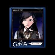 The Coma 1 Recut trading card 01 Yaesol Han