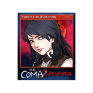 The Coma 2 trading card 06 Yaesol Han (Poisoned)
