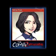 The Coma 2 trading card 02 Mina Park