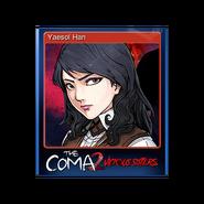 The Coma 2 trading card 05 Yaesol Han