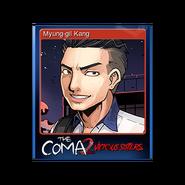 The Coma 2 trading card 12 Myung-gil Kang