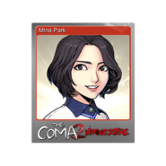 The Coma 2 trading card 02 Mina Park foil