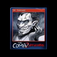 The Coma 2 trading card 15 Mr Dokkaebi