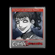 The Coma 2 trading card 04 Da-hyun Lee (Shadow Realm) foil