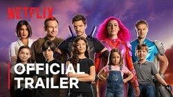 We Can Be Heroes starring Priyanka Chopra & Pedro Pascal Official Trailer Netflix