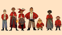 Red Robes by Becpng