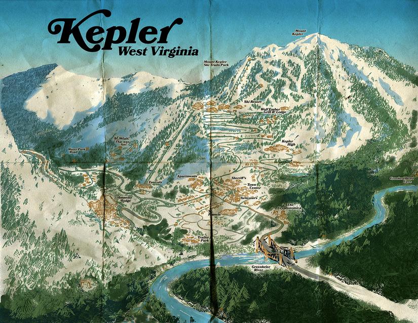 Keplermap-textured small