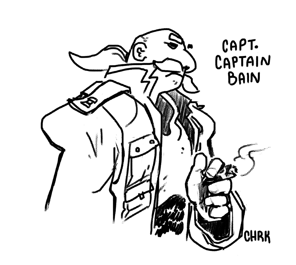 Capt. Captain Bain