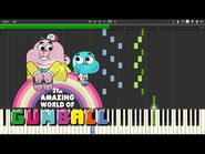 The Amazing World of Gumball - The Choices song (Synthesia)