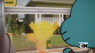 Penny Fitzgerald is laughing at Gumball Watterson on The Bros 2