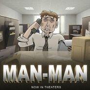GB524STARS Character Man-Man