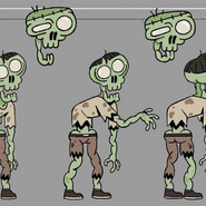Random zombies