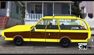 Triple-Waxed Car