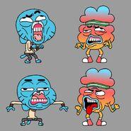 GB6XXONE Costume GB TB Faces