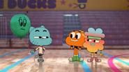 Gumball has new friend also