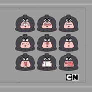 GB5XXBOX Character Terrorist Mouths