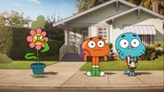 Gumball said plant are pointless