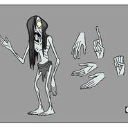 GB607VEGGING Character Specter Hands