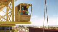 The Brain - Knocking Construction man