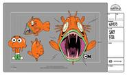 GB535 SCARY FISH