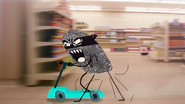 Wild chase with le cart