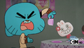 S01E27 - Gumball hating on the creepy doll