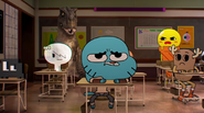 Everyone is staring at gumball