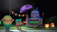 Ghouls Selling Frankenwieners