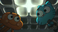 Gumball and darwin take le remote