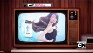 Shampoo commercial
