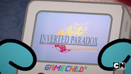 Inverted paradox title