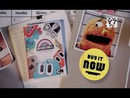 """The Amazing World of Gumball- The Mystery (2013) """"Now Available"""" NTSC DVD TV spot"""