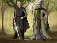 Olaf and Elessar Vanguard