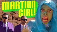 Spooky ALIEN sighting at FAKE LAKE - Ohana Boys and Mallory Everton in MARTIAN GIRL pt