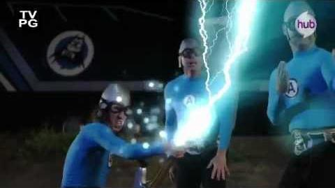 """The Aquabats! Super Show! """"LadyFingers!"""" (Promo) The Hub"""