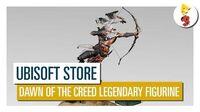 Descubre más sobre la exclusiva Figura Legendaria de Assassin's Creed Origins Dawn of the Creed!