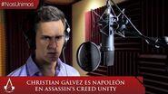 Assassin´s Creed Unity - Christian Gálvez interpreta a Napoleón Bonaparte