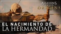Assassin's Creed Origins - El Nacimiento de la Hermandad