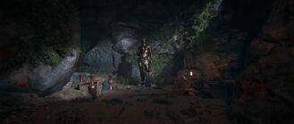 Estatua de Hermes Cueva de Drogarati
