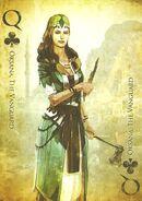 Assassins creed card oksana the vanguard