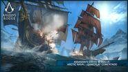 Assassin's Creed ® Rogue Arctic Naval - Gameplay Comentado ES