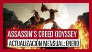 ASSASSIN'S CREED ODYSSEY ACTUALIZACIÓN MENSUAL ENERO
