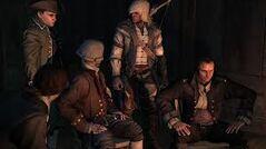 Adams con Hancock y Connor