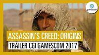 Assassin's Creed Origins Tráiler CGI Gamescom 2017