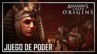 Assassins Creed Origins - Trailer Juego de Poder I gamescom 2017