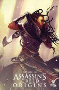 AC Origins comic portada alterna