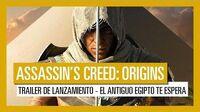 Assassin's Creed Origins Tráiler de Lanzamiento - El Antiguo Egipto te espera