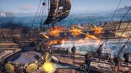 Odyssey batalla naval