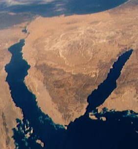 Península del Sinaí
