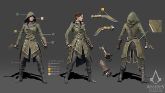 ACS Lydia Frye Cosplay Reference